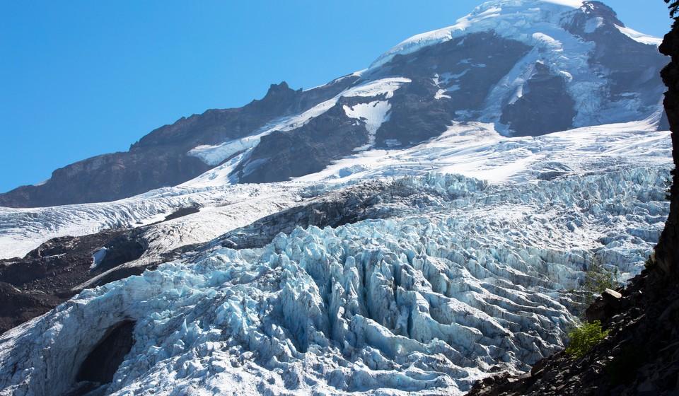 Coleman Glacier on Mt. Baker
