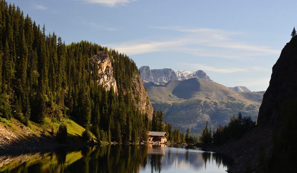 Lake Agnes Tea House, Banff National Park.
