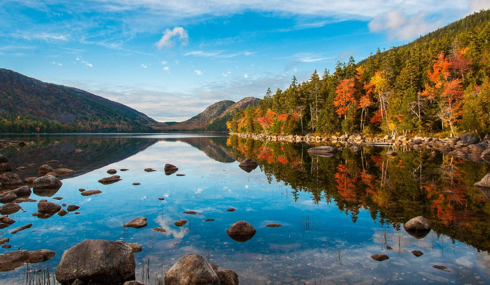 Jordan Pond is one of the best things to do in Acadia National Park.