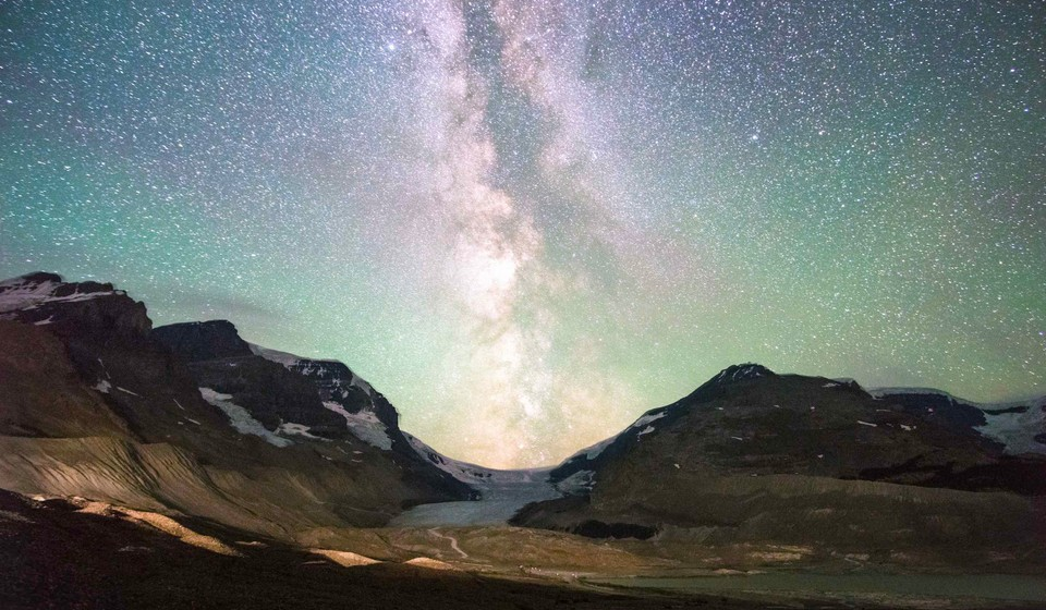 Jasper National Park is a dark sky preserve, making it one of the best places to view the night sky.