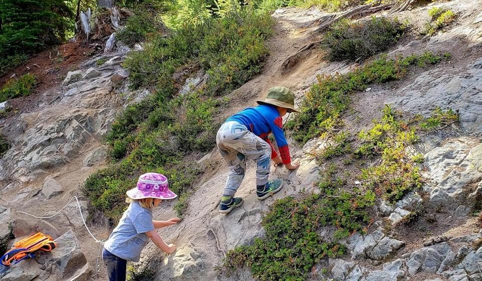 kids friendly hike in North cascades
