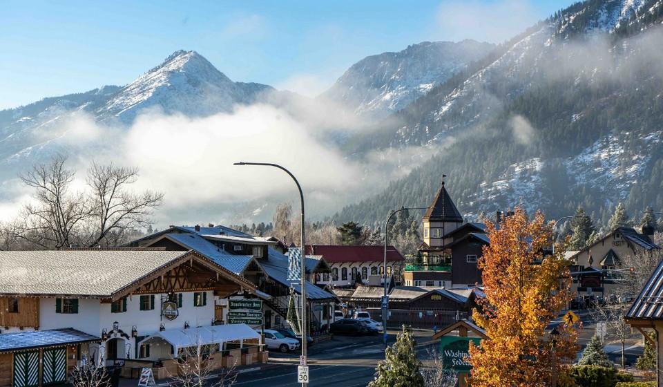Bavarian-themed village In Washington