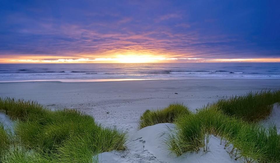 Manzanita White Sand Beach, Oregon, USA.
